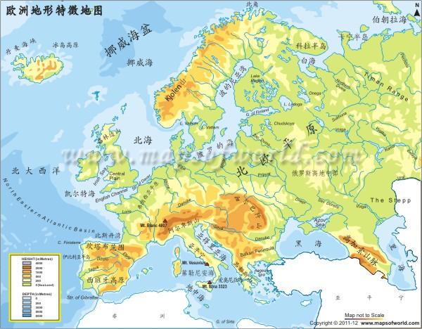 欧洲物理图谱