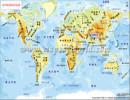 世界地图 物理世界地图